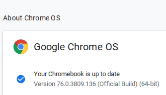 About Chrome OS